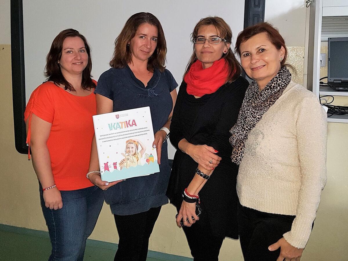 Lektorky projektu IKATIKA: digitálna edukácia v štátnom aj materinskom jazyku je výrazný posun vpred